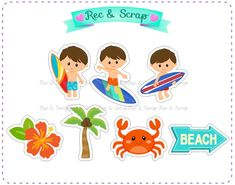 Recorte/Aplique Surf 4 cm