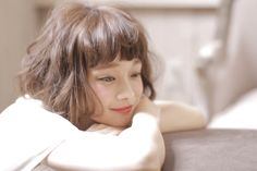 Pin on 可愛いヘア Permed Hairstyles, Short Hairstyles For Women, Cute Hairstyles, Hot Haircuts, Hair Arrange, Medium Short Hair, Japanese Hairstyle, About Hair, Hair Today