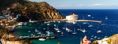 Catalina Island -  can you say Swing Camp!! Most fun ever dancing in the ballroom in that big round casino you're looking at!!