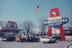 Geri's Drive In on the Northwest corner of Park Avenue and Woodard Avenue in Beloit, WI, in 1975.