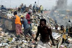 According to the Environmental Protection Agency, the average American produces about 4.4 pounds of garbage a day.