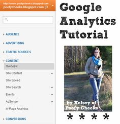 A tutorial on how to track traffic to your blog using Google Analytics