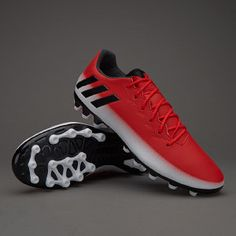 finest selection 3b3a3 436e6 adidas Messi 16.3 AG - Blanco Negro Rojo