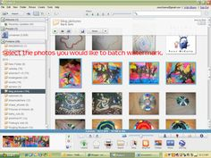 we heart art: batch watermarking using picasa
