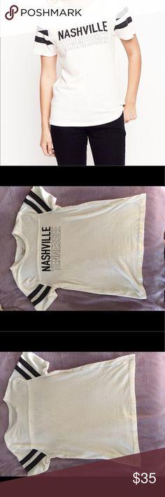 Midnight Rider Nashville TB Ringer T-Shirt Super soft Nashville Tennessee t-shirt by Midnight Rider. Size x-small, brand new! Midnight Rider Tops Tees - Short Sleeve