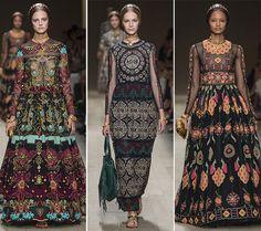 Spring/ Summer 2014 Print Trends - Folksy Ethnic Prints  #trends #fashion