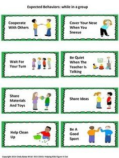 Behavior Plans and Visual Supports for student's desks - Buscar con Google