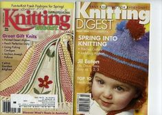 Knitting Digest March 2004  May 2003 Pre-Owned Really Good Condition #KnittingDigest #Backissues #Knittingpatterns
