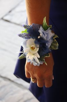small wrist corsage butterfly - Google Search