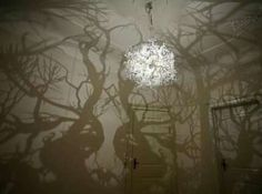 Bedroom forest lamp. #greatdesign #greatexperiential