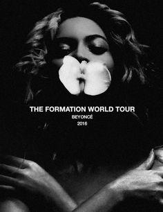 beyonce formation world tour poster Beyonce Formation Tour, The Formation World Tour, Concert Tickets, Concert Posters, Music Posters, Concert Flyer, Beyonce World Tour, Beyonce 2016, Sold Out Tickets