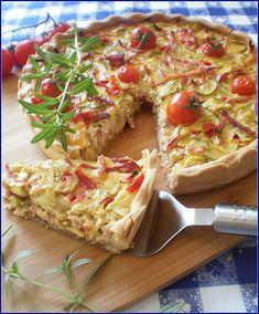 Tarta cu dovlecei | Retete Culinare - Bucataresele Vesele