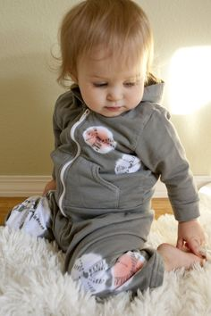 adorable organic child hoodie with modern tie dye