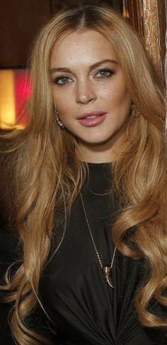 Lindsay Lohan told us her favorite skincare brand...