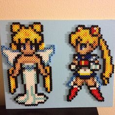 Sailor Moon perler beads by perlerplayland