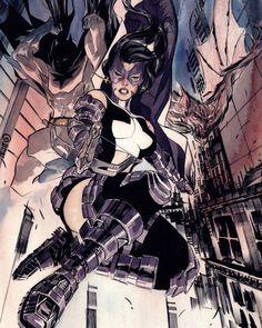 Seldom.. batgirl cali logan superheroine in peril what shall
