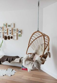 50 Lovely And Relaxable Indoor Swing Chair Design Ideas Home Interior, Interior Decorating, Interior Design, Decorating Ideas, Interior Stylist, Decoration Inspiration, Interior Inspiration, Design Inspiration, Creative Inspiration