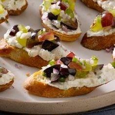 ... Crostini & Bruschetta on Pinterest | Bruschetta, Goat cheese and Brie