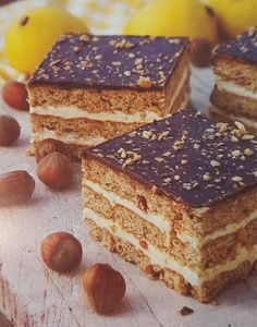 Receptek, és hasznos cikkek oldala: Citromkrémes-mogyorós szelet Tiramisu, Ethnic Recipes, Food, Essen, Meals, Tiramisu Cake, Yemek, Eten