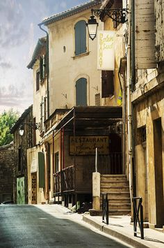 Southern French Town - Arles, Provence, Photograph