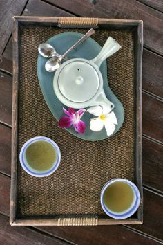 Enjoy tea time at Club Med Phuket