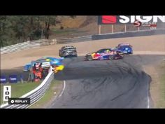 V8 Supercars 2016. Symmons Plains Raceway. Oil On The Track - WATCH VIDEO HERE -> http://bestcar.solutions/v8-supercars-2016-symmons-plains-raceway-oil-on-the-track    Video credits to CrashRacing YouTube channel