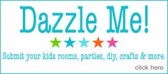 "Design Dazzle ~room design, decor, awesome kids parties and creativity for babies, kids and teens. This blog is devoted to showcasing the talents of parents, moms, designers, decorators, and ""designers-at-heart""."
