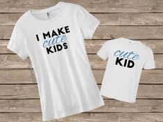 Mom and Toddler Shirt, Mom and Son Shirts, Funny Mom Shirt, Mommy and Me Shirt, Mama Shirt, Mother and Son Shirts, TShirt, Gift for Mom by SBHBoutique on Etsy https://www.etsy.com/listing/293081871/mom-and-toddler-shirt-mom-and-son-shirts