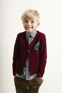 Lookbook Bellerose Kids collection FW'16 / Knitwear Goodrich - Shirt Ganix 62F - Pants Swingy62