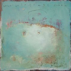 Sharon Booma-Artist-Perfumed Wake, 42 x 42 inches, mixed media on panel