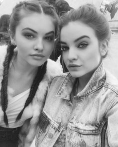 BOLD BROWSThylane Blondeau, French It Girl and New Face of L'Oréal Paris Makeup, Is a Master of the Selfie Photos | W Magazine