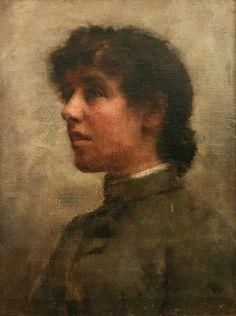 Stanhope Alexander Forbes (Irish artist) 1857 - 1947 , Elizabeth Adela Forbes (1859–1912), 1890 on ArtStack #stanhope-alexander-forbes-irish-artist-1857-1947 #art