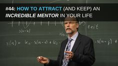 """""""When the student is ready – the teacher appears…""""   Having a mentor is absolutely one of the most important (but overlooked) concepts in business, that can both help you reach new heights of success and can help you crack the 'secret code' to unbelievable, massive growth and duplication in your business.    Learn how to attract (and keep) an incredible mentor right here: http://bit.ly/2ef2IlJ"""