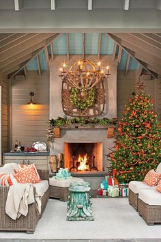 100 Fresh Christmas Decorating Ideas | Bring cheer to your house this holiday season with these easy decorating ideas. Everyone loves decorating for Christmas. Grab your garland and get ready for wreaths, because here, the editors of Southern Living share some of their favorite new ideas for Christmas decorating. These decorating ideas for your mantel, front door, mailbox, Christmas tree, and more will surely fill you with Christmas cheer. We show you how to give a twist on tradition with