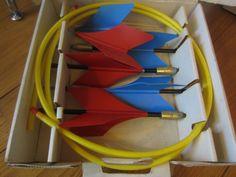 Vintage 1961 JARTS MISSILE GAME Vintage Yard/Lawn Darts recalled