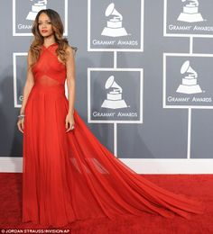 Rihanna, looked the best at the Grammy's.