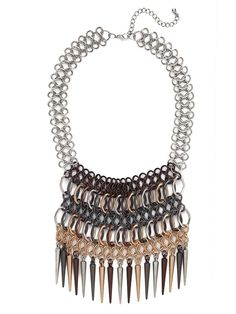 our multi mesh spike bib from the Courtney Kerr collection!