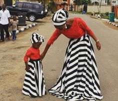 African Queen and Princess