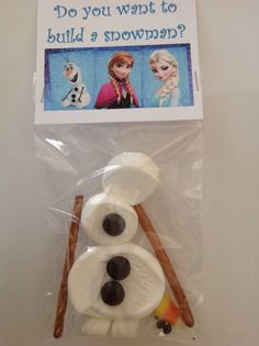 Olaf Goody/Activity Bag 5 per set by DropOfAwesome on Etsy, $5.00