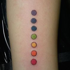 Fall in Love With These 13 Beautiful Pride Tattoos via Brit + Co.