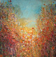 """Saatchi Art Artist Sandy Dooley; Painting, """"Autumn Light"""" #art"""