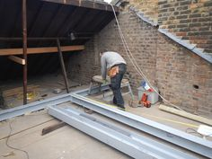 A full width rear mansard into one large master bedroom & bathroom in Fulham SW6