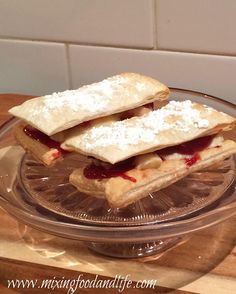 Old School – Matchsticks filled with Strawberry and Custard surrounded by a puffed delicious pastry ensemble I remember my mum making these , I remember them being served at the tuckshop at s…