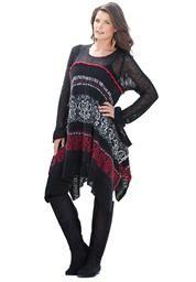 """Plus Size Denim 24/7® """"Lucy"""" Sweater"""