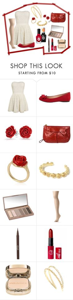 """""""Untitled #1"""" by jiofalcon ❤ liked on Polyvore featuring Superdry, Jessica Simpson, Bling Jewelry, Miu Miu, LeiVanKash, Urban Decay, Hanes, Stila, Dolce&Gabbana and Sally Hansen"""