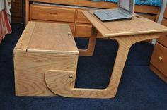 Bench/Desk/Chest combo ((an idea, but would need major tweaking, esp so fingers aren't squashed))