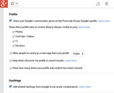 """Twelve Things You Should Do on Your Personal Google+ Account Right Now 