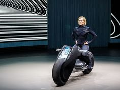 BMW concept motorcycle so safe, no helmet needed - Roadshow