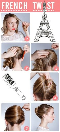 How to: French Twist