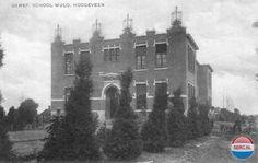 Scholen Hoogeveen (jaartal: 1920 tot 1930) - Foto's SERC
